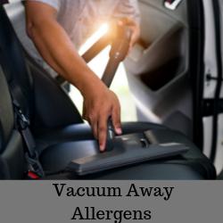 Vacuum Away Allergens