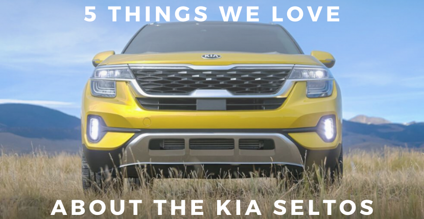 5 Things We Like About the Kia Seltos