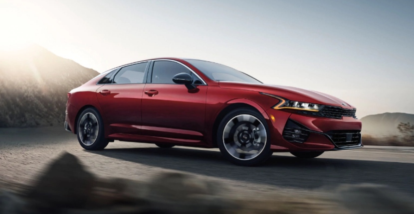 2021 Kia K5 Rolls Out New Name for the Optima