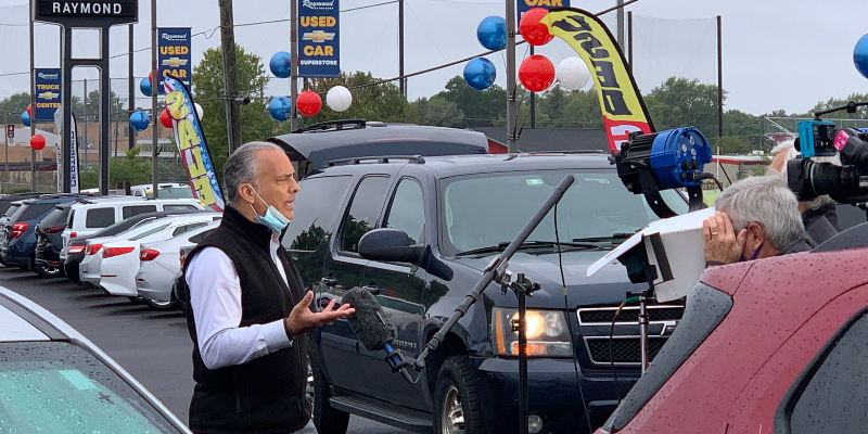 Raymond Auto Group and Mark Scarpelli Receive Visit from ABC's Good Morning America