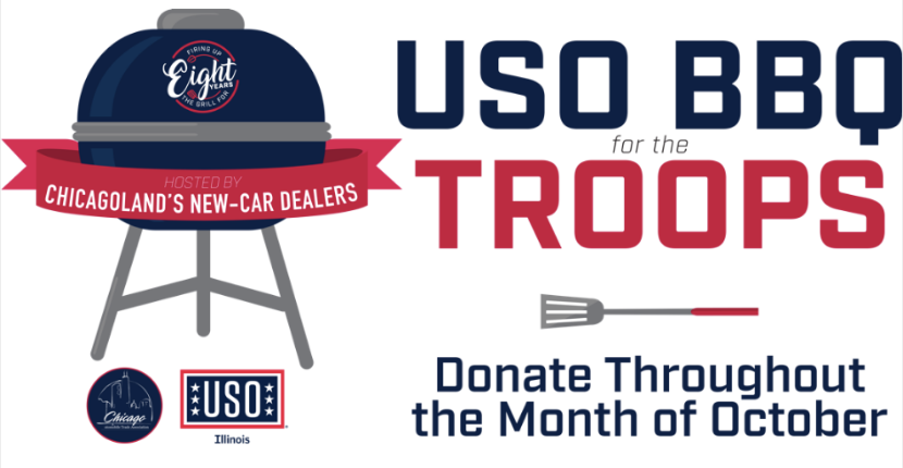 Raymond Kia Supports USO BBQ for the Troops