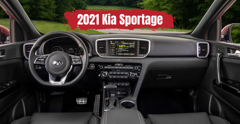 2021 Kia Sportage Has All the Tech You Need for the Road