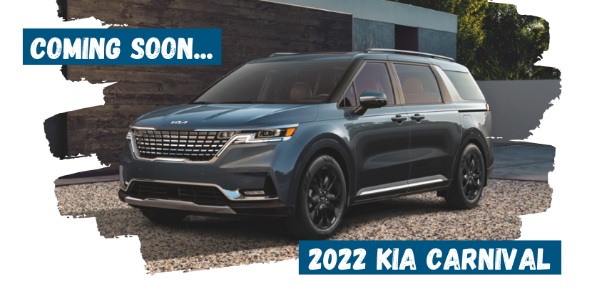 Learn About the 2022 Kia Carnival Coming Soon!